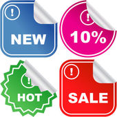 Set of sale labels. Great collection. — Stockvector
