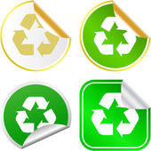 Recycle Vector collection — Stock Vector
