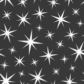 Seamless background with stars. Vector illustration. — Stock Vector
