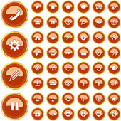 Vector collection of web buttons. — Stock Vector
