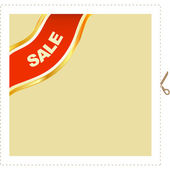 Set of sale label — Stock Vector