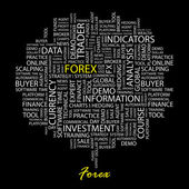 FOREX. Vector illustration. — Stock Vector