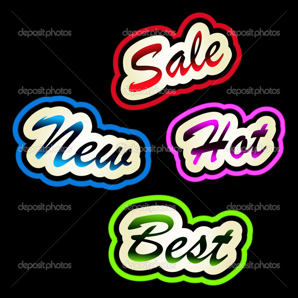Set of sale labels. Great collection. — Stock Vector #3074950