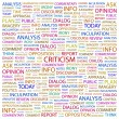 CRITICISM. Word collage — Stock Vector