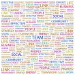 TEAM. Word collage on white background — Stock Vector #3509871