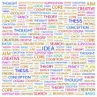 IDEA. Word collage on white — Stock Vector #3510095