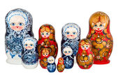 Nested dolls — Stockfoto