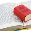 Small dictionary - Stock Photo