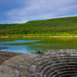 Stock Photo: Ladybower dam
