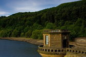 Ladybower dam — Stock Photo
