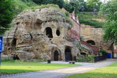 Caves at nottingham castle — Stock Photo