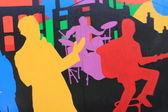 Graffito — Foto Stock