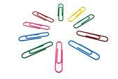 Paper clips — Stok fotoğraf