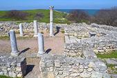 Antik tapınak kalıntıları — Stok fotoğraf