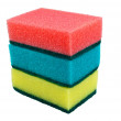 Kitchen sponges - Stock Photo