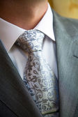 Stylish man in a suit and tie — Stock Photo