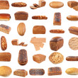 Collection of various bread - Stock Photo