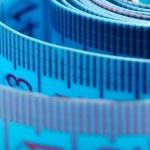 Tape measure close - up . — Stock Photo #3105963