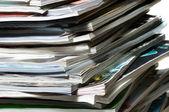 Stack of magazines . — Стоковое фото