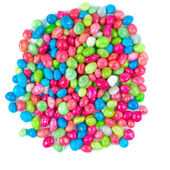 Multicolored dragee drop candy — Stock Photo