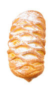 Croissant from flaky pastry — Stock Photo