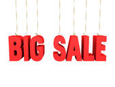 Big sale danglers — Stock Photo