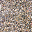 Colorful pebble stones texture — Stock Photo