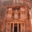 Beautiful view of Treasure in Petra — Foto Stock
