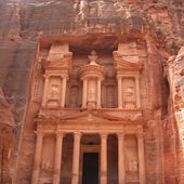 Beautiful view of Treasure in Petra — Foto de Stock