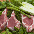Stockfoto: Racks of lamb,