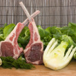 Stockfoto: Racks of lamb