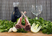 Racks of lamb — Stock Photo