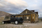 Rhyolithe ghost town — Stock Photo