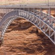 Colorado river bridge - Stock Photo
