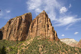 Zion canyon nationalpark — Stockfoto