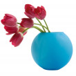 Red tulip in blue vase — Stock Photo #2817674