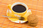 Cookies and cofee cup — Stock Photo