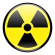 Stock Photo: Radiation Round Sign Icon