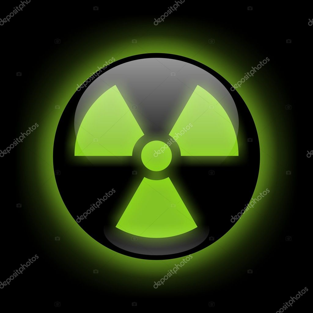 Radiation Sign — Stock Photo © okeen_ #3166615