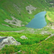 Alpine lake - Stock Photo