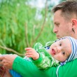 Child wiht father — Stock Photo #3771889
