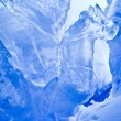 Blue Ice cave — Stockfoto