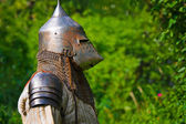 Knight in armor — Stock Photo