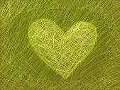 Abstrakcja z serca — Zdjęcie stockowe