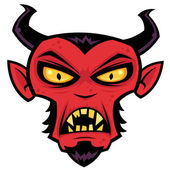 Mad Devil — Stock Vector
