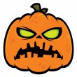 Pumpkin Zombie — Stock Vector