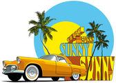 Sunny — Stock Vector