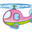 Helicopter — Stock Vector #3134686