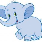 Elephant — Stock Vector #3209323