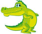 Crocodile — Stock Vector